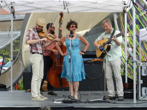 On not getting gigs and grants - Kristine Schmitt and the Lonesome Ace Stringband at The Distillery District