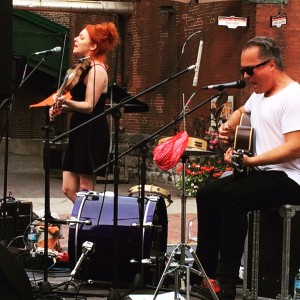 On not getting gigs or grants. -  Harrow Fiar (Miranda Mulholland and Andrew Penner) at The Distillery District